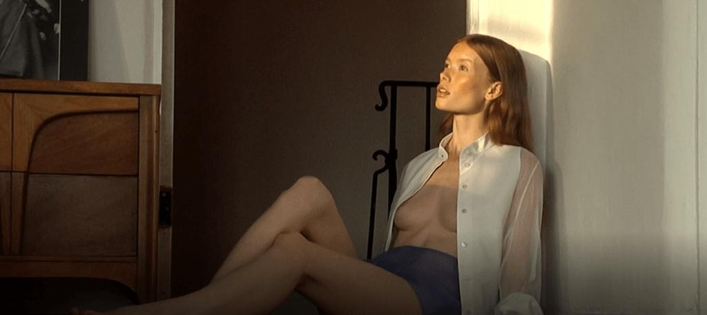 Camilla Akrans Photoshoot bts video still